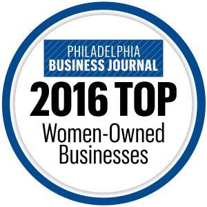 Philadelphia Business Journal Top 100 Women Owned Business