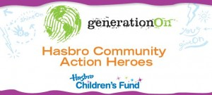 Hasbro Community Action Hero logo