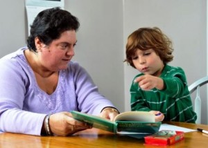 tutoring children