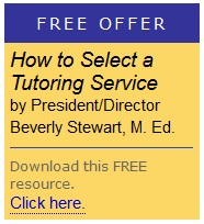 select a tutoring service