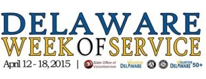 Delaware Week of Service 2015 logo
