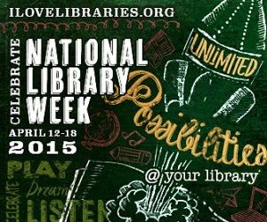 National Library Week 2015 logo