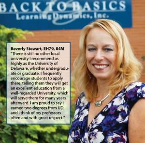 Beverly Stewart, University of Delaware