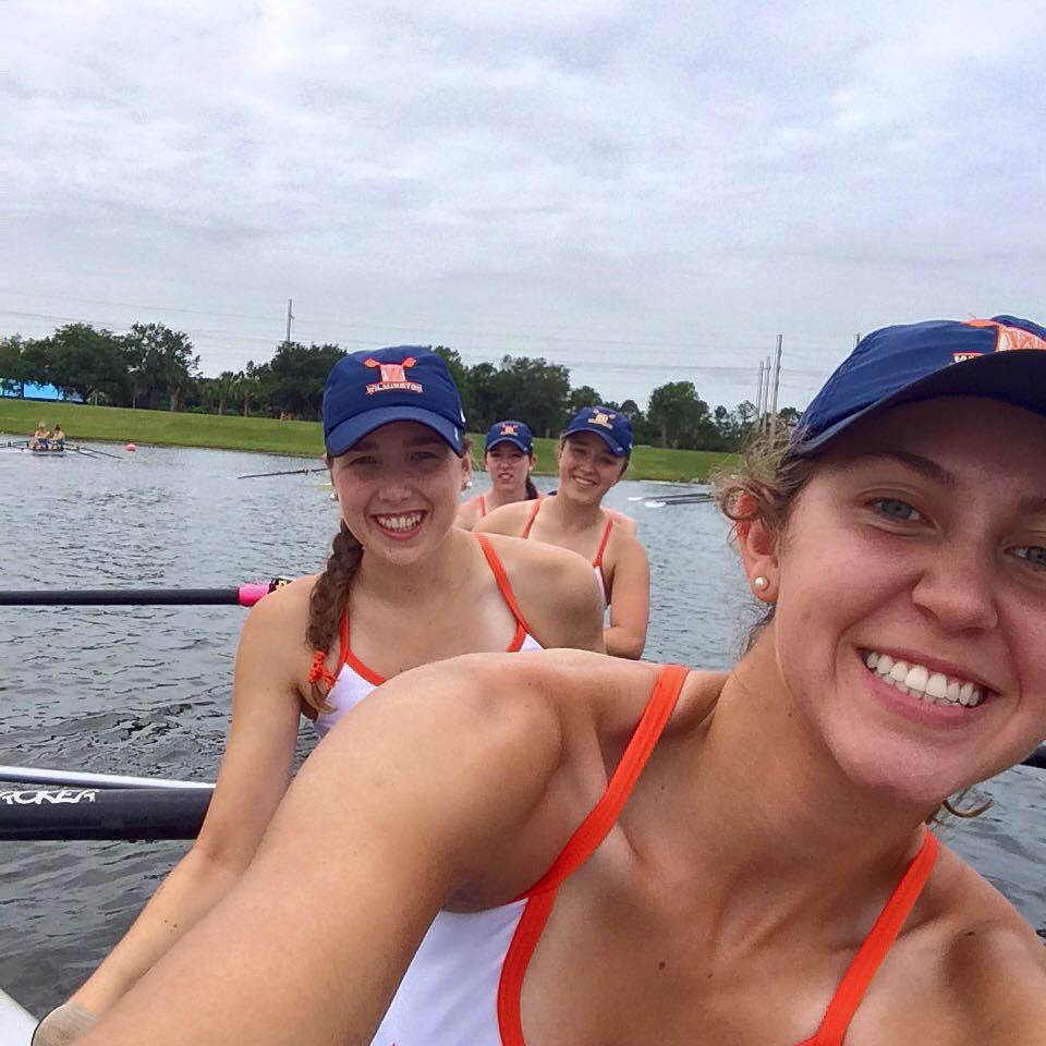2015 Nationals in the boat
