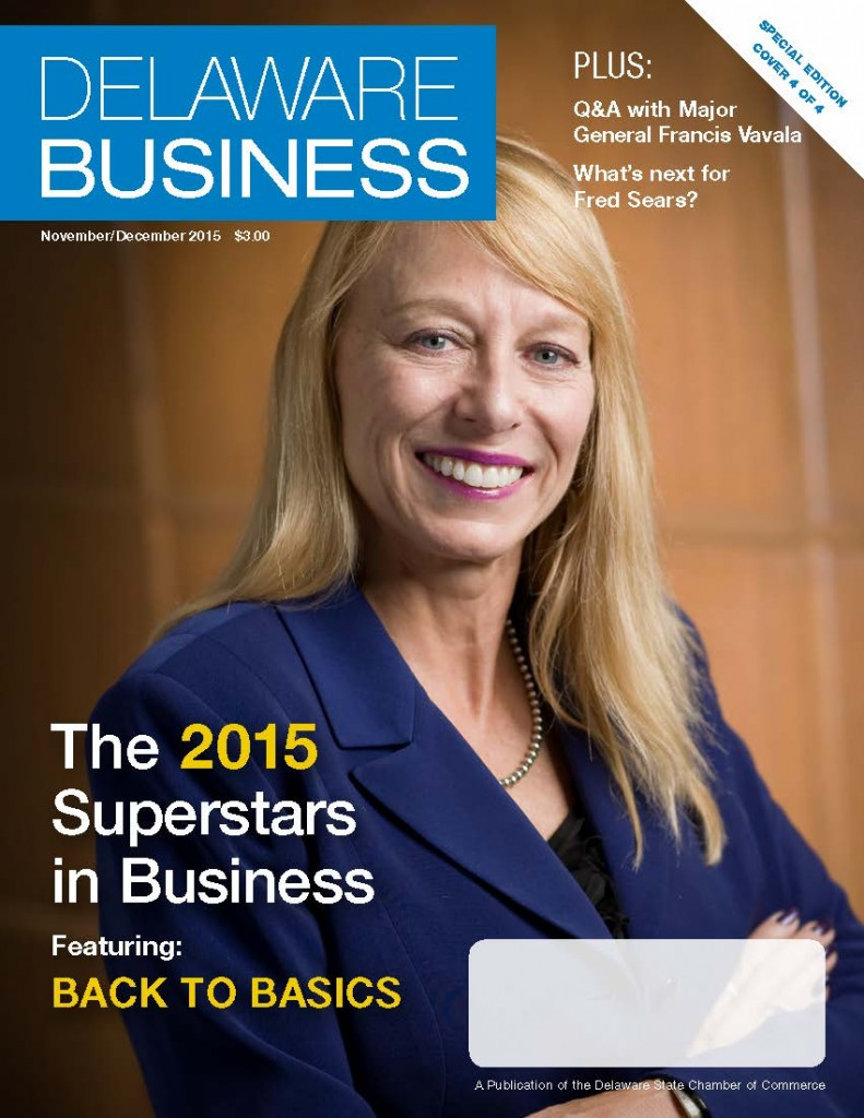 Beverly Stewart was recently featured on the cover of Delaware Business as part of the Superstars in Business Award Program.