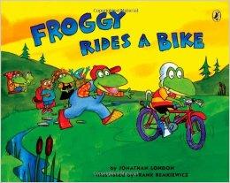 Froggy Ridea a Bike