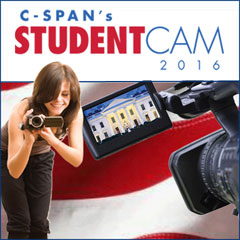 $100,000 in college scholarships available for kids in grades 6-12 in C-SPAN's 2016 Student Cam Video Documentary Competition