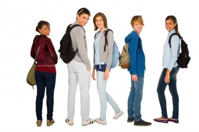 Teenagers with Backpacks, FreeDigitalPhotos.net