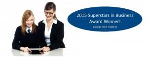 Superstars in business award winner