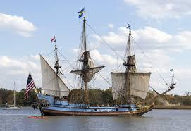 Kalmar Nyckel in Wilmington Delaware
