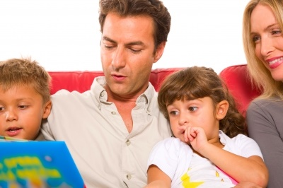 Family Literacy Reading Together