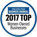 Philadelphia Business Journal Top Women Owned Businesses 2017