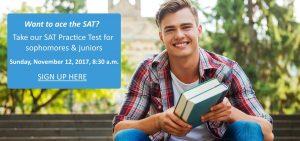SAT Practice Test for sophomores & juniors