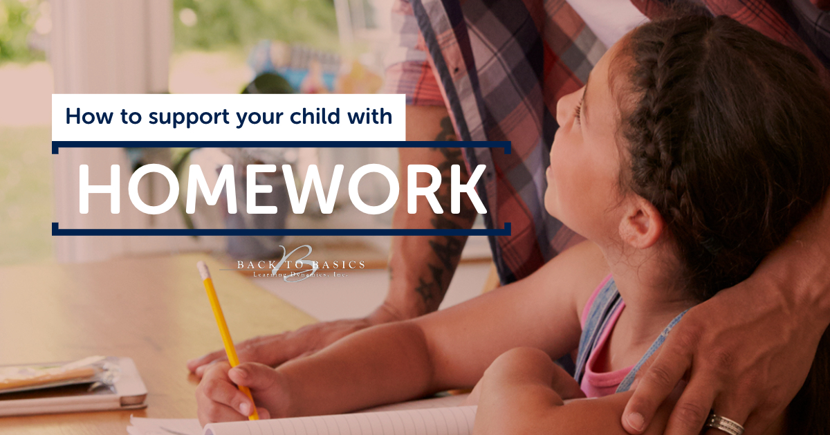 How to support your child with homework