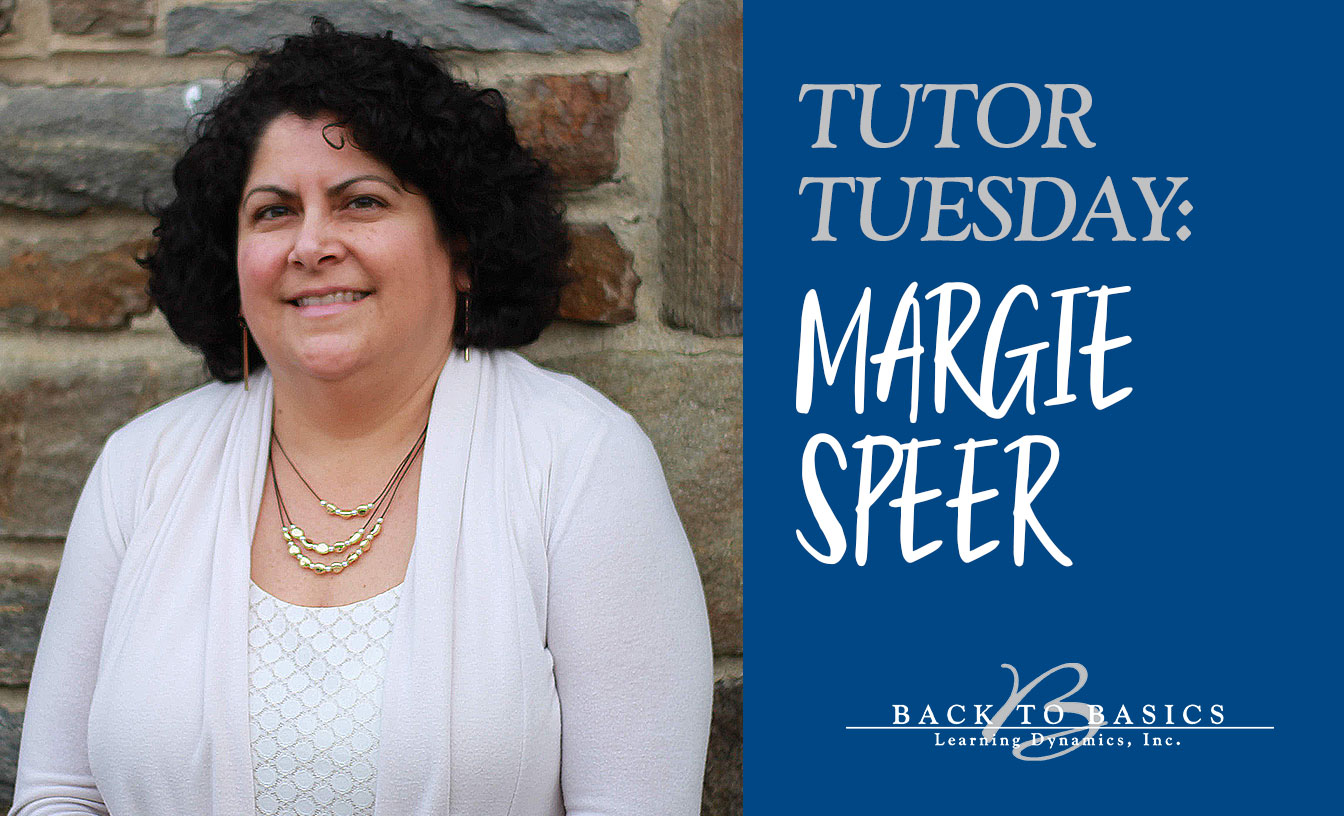 TUTOR TUESDAY: Margie Speer