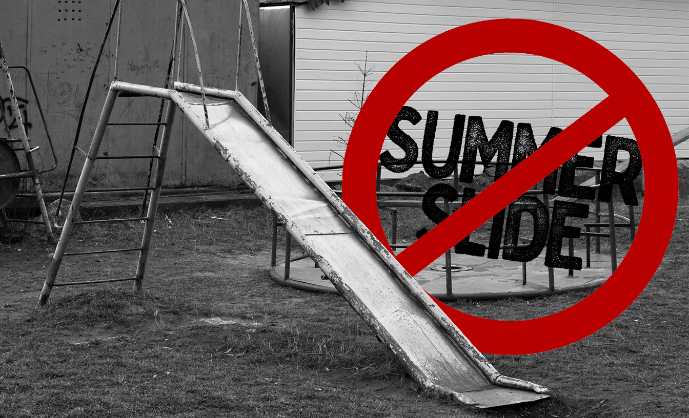 Summer slide may get progressively steeper