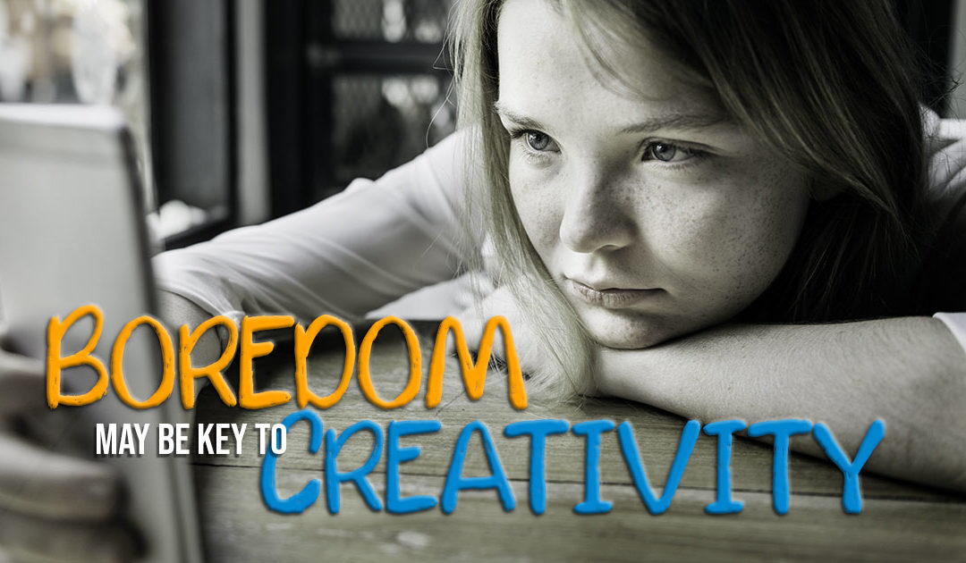 Boredom may be key to creativity