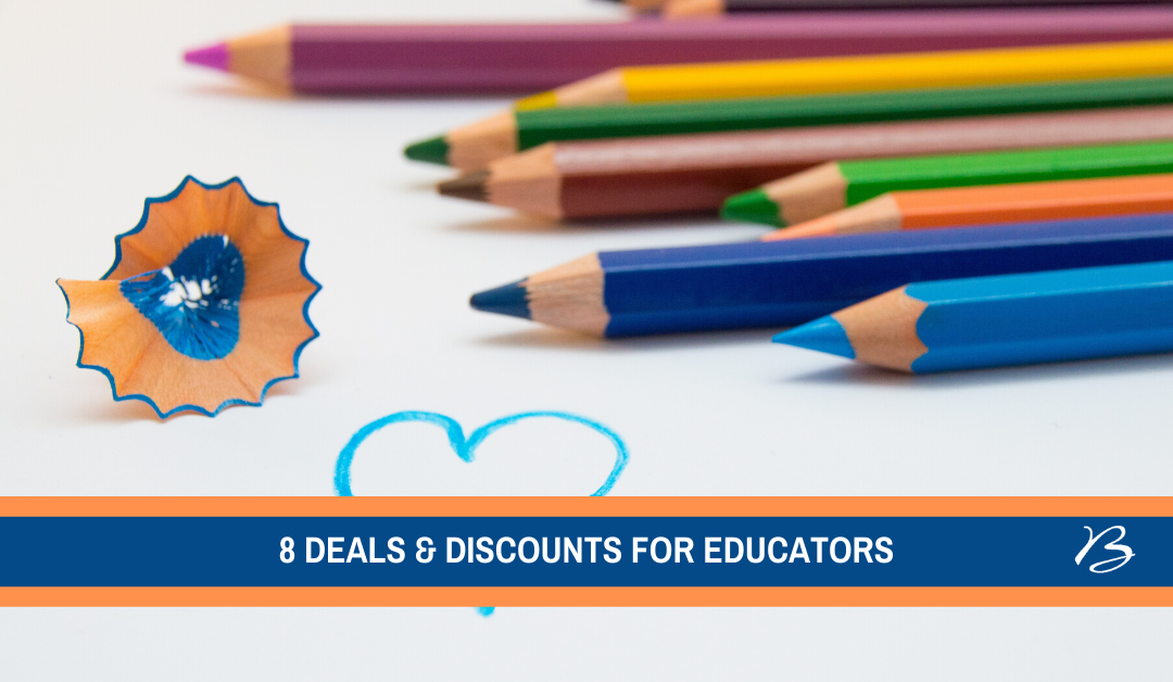8 Deals and Discounts for Educators
